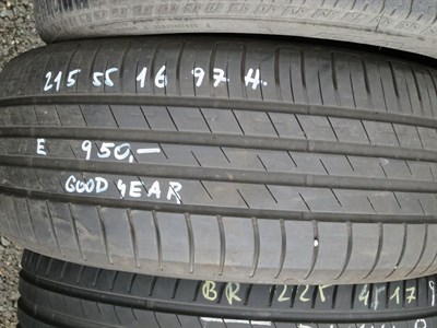 215/55 R16 97H použitá letní pneu GOOD YEAR EFFICIENTGRIP PERFORMANCE